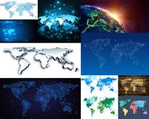 地图形状摄影高清图片