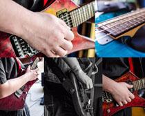 吉它音乐摄影高清图片