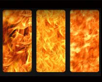 超酷火焰紋理填充圖案