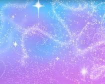亮晶晶的星光笔刷素材