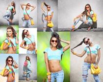 潮流个性美女写真摄影高清图片