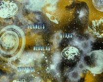 宇宙星空星球笔刷