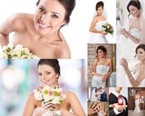 美丽新娘写真摄影高清图片