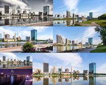 城市楼房建筑摄影高清图片