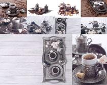 茶杯咖啡摄影高清图片