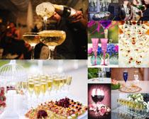 香槟酒摄影高清图片