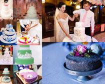 漂亮的生日蛋糕摄影高清图片