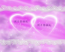 婚庆海报背景设计模板PSD源文件