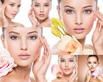 美容肌肤女子摄影高清图片