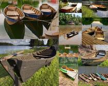 小木船摄影高清图片