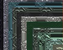 20种金属边框画框笔刷素材