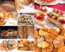 食品水果面包摄影高清图片