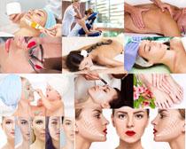 SPA护理女子摄影高清图片