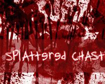血迹斑斑笔刷素材