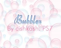 水泡气泡球体笔刷素材