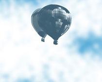升空热气球笔刷