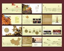 留学画册设计矢量素材