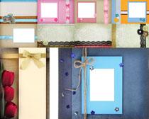 相框名信片包装摄影高清图片