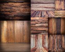 装修木板条背景拍摄高清图片