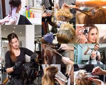 理发师头发摄影高清图片