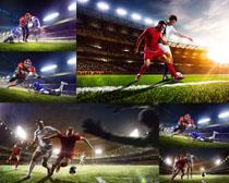 足球场运动男人摄影高清图片