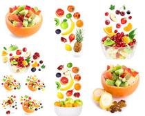 水果拼盘摄影高清图片