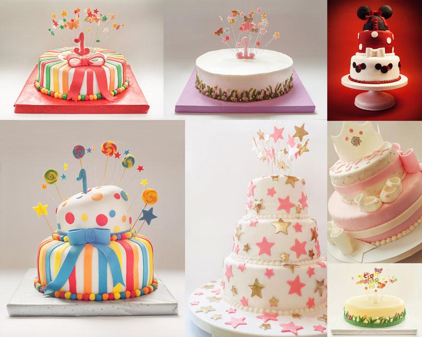 可爱生日蛋糕拍摄高清图片
