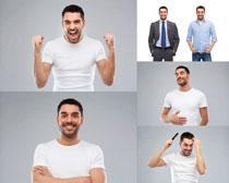 自信的男人摄影高清图片