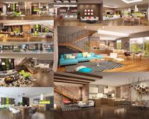 舒适的客厅设计摄影高清图片