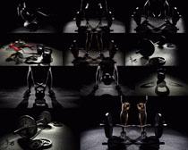 体育器材摄影高清图片