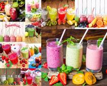 各式水果饮料摄影高清图片