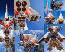 航空火箭运输摄影高清图片