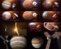 宇宙太空卫星摄影高清图片