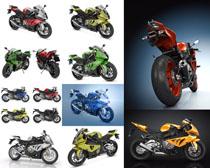 动感摩托跑车摄影高清图片