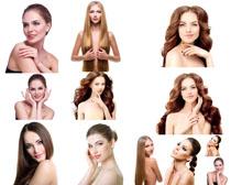 肌肤与发型女人摄影高清图片