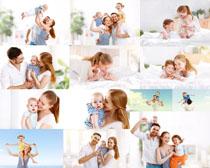 快乐幸福一家人写真拍摄高清图片