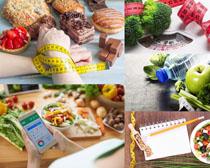 食物减肥计划摄影高清图片