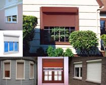 建筑窗户摄影高清图片