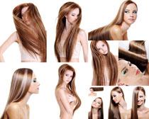 性感发型女子摄影高清图片