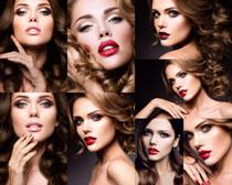 欧美化妆女子摄影高清图片