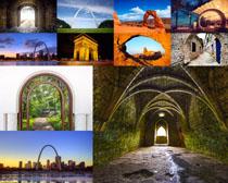 建筑景观标志摄影高清图片