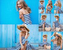 欧美服装美女摄影高清图片