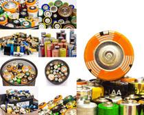 环保电池摄影高清图片