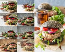 国外汉堡包摄影高清图片