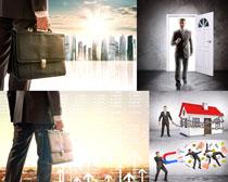 创意商务男子摄影高清图片