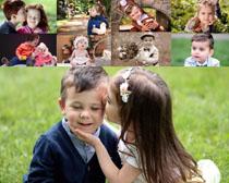 快乐儿童玩耍摄影高清图片