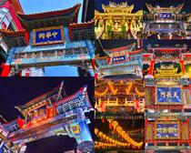 中国古典建筑风格摄影高清图片