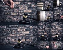 法庭锤子摄影高清图片