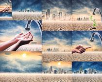 干旱环保城市摄影高清图片