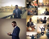 欧美商务男子摄影高清图片